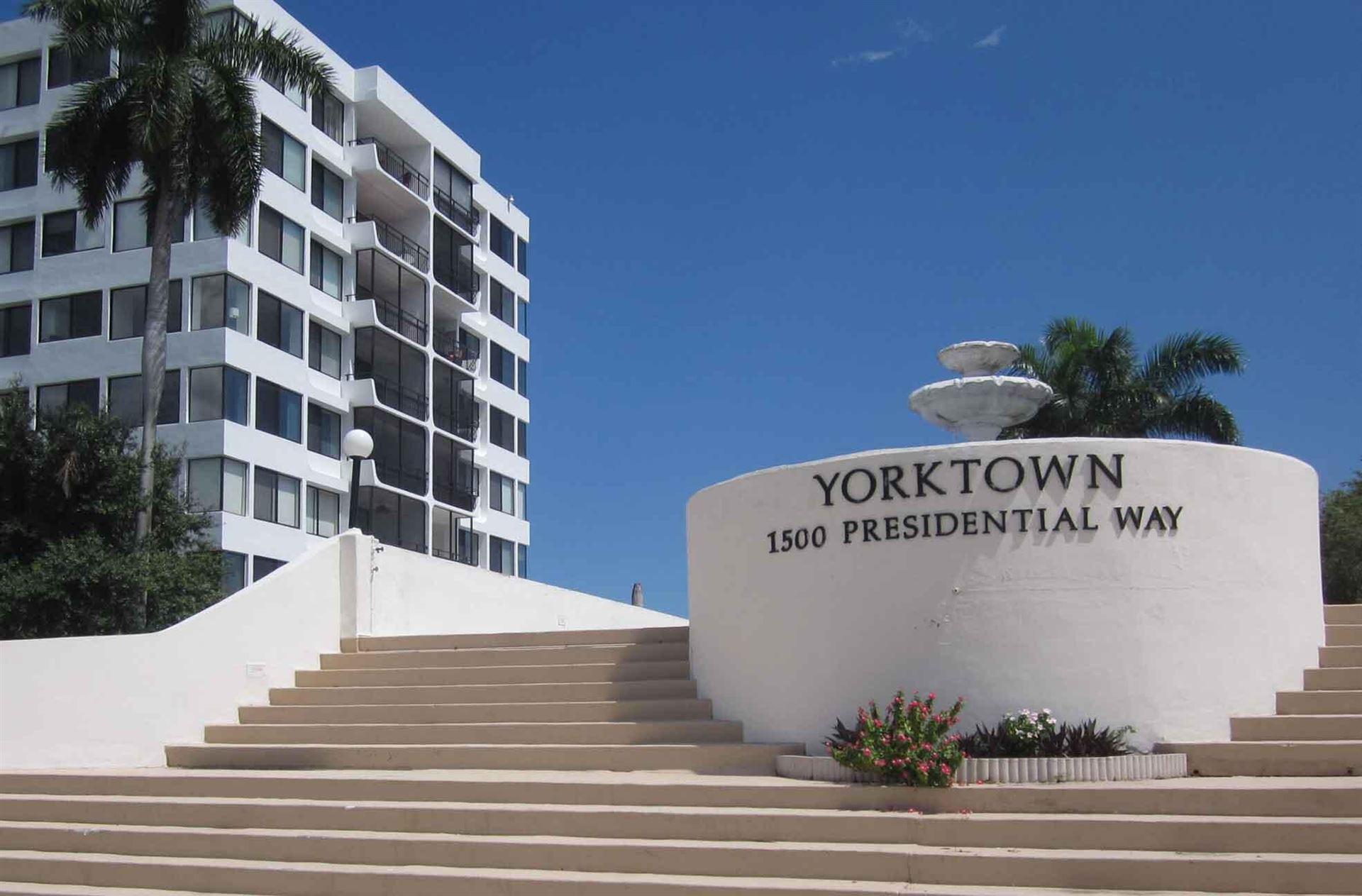 1500 Presidential Way #604, West Palm Beach, FL 33401 - MLS#: RX-10751890