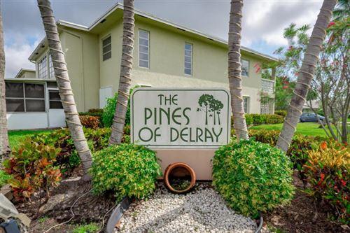 Photo of 1140 Cactus Terrace #44-B, Delray Beach, FL 33445 (MLS # RX-10752891)