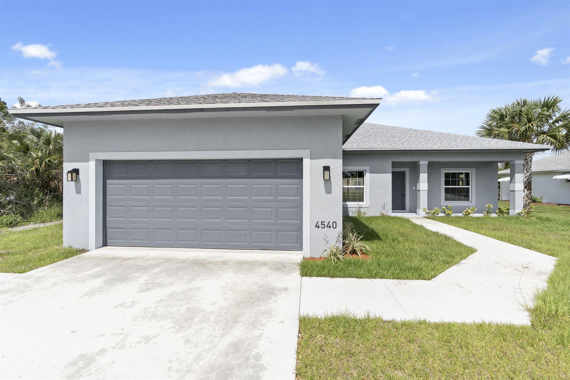 4422 SW Jaunt Road, Port Saint Lucie, FL 34953 - #: RX-10639892