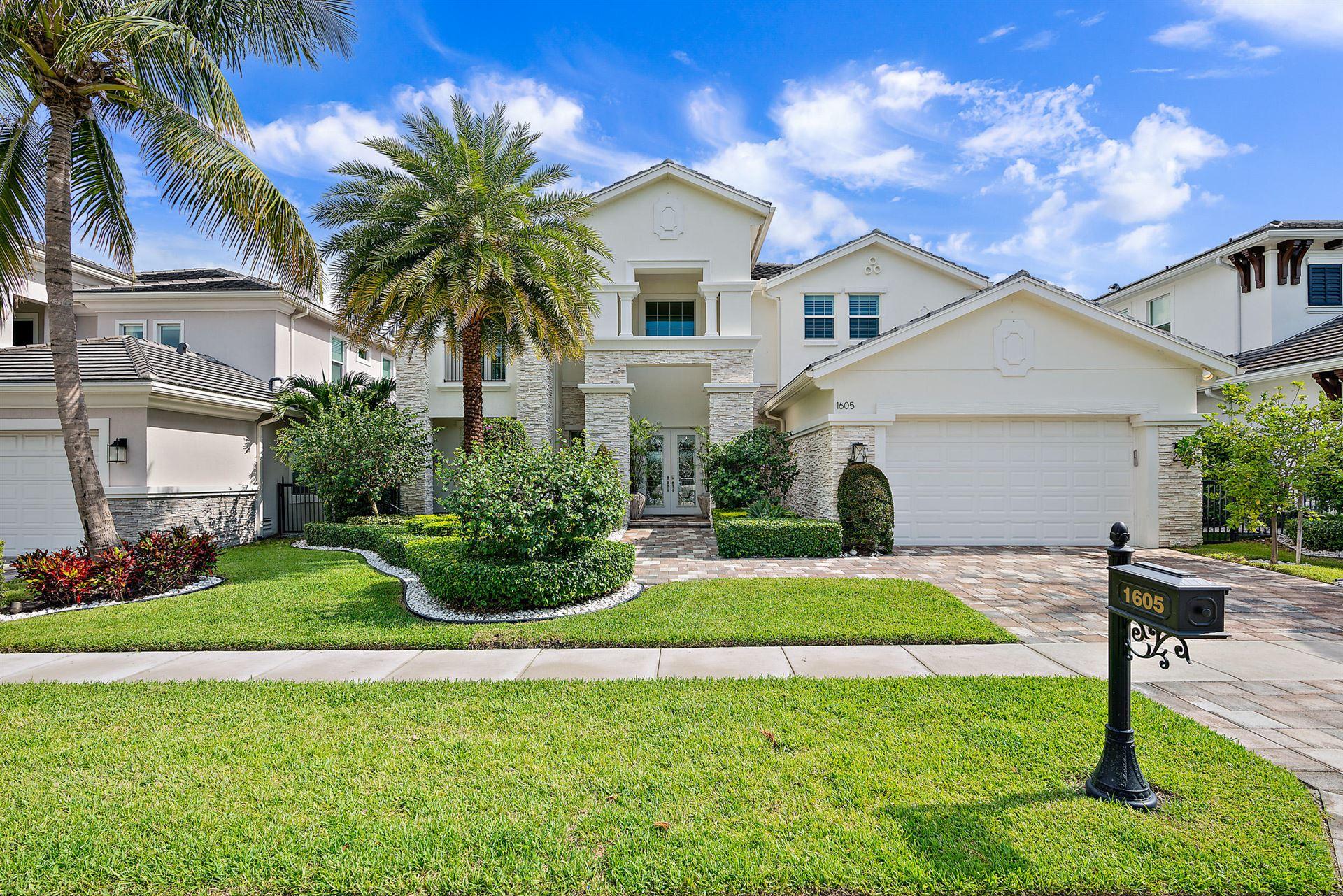 1605 E Hemingway Drive, Juno Beach, FL 33408 - #: RX-10641892