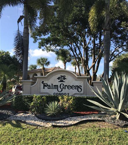 Photo of 13960 Via Flora #H, Delray Beach, FL 33484 (MLS # RX-10673893)
