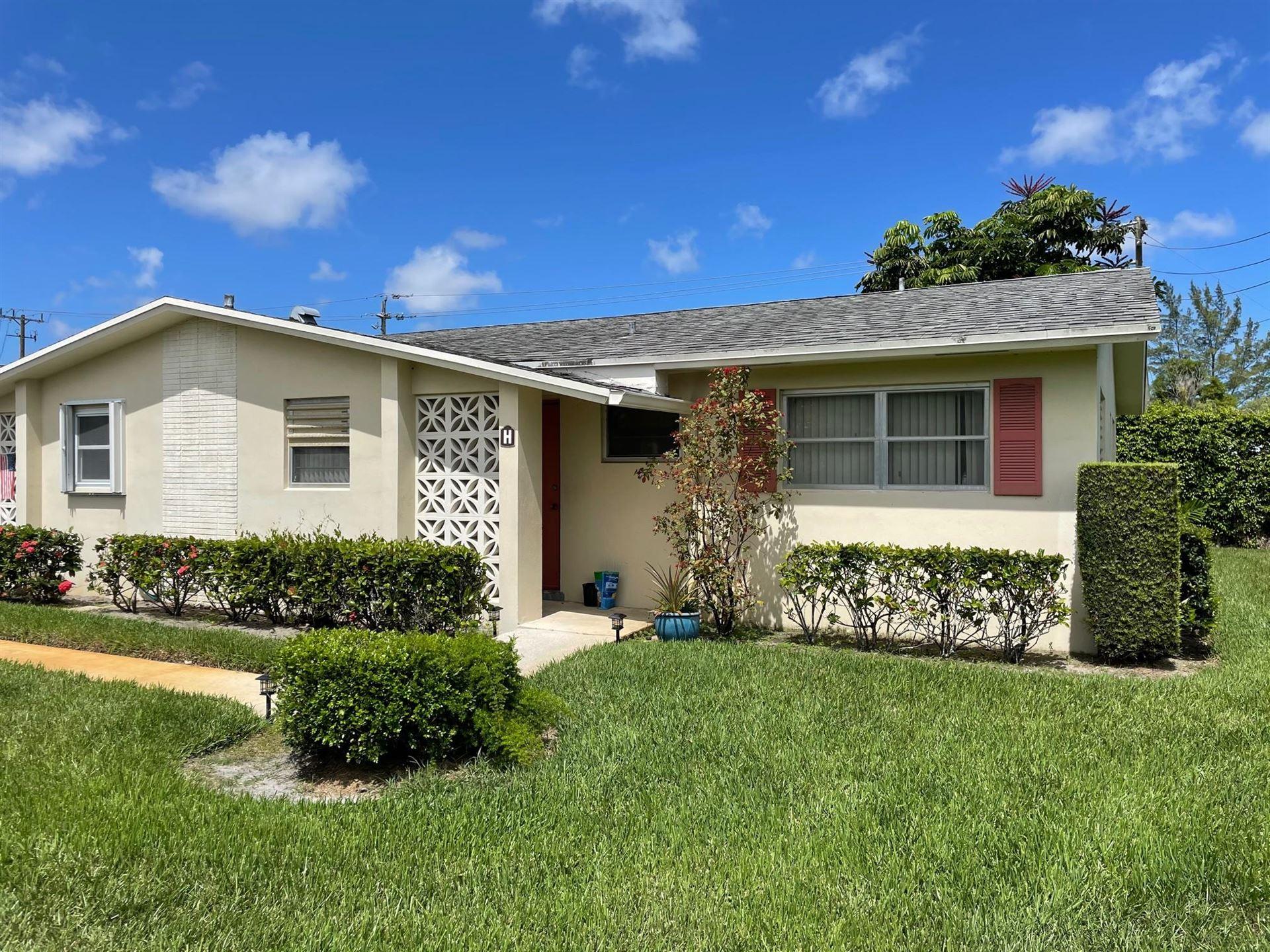 2946 Ashley Drive E #Apt. H, West Palm Beach, FL 33415 - MLS#: RX-10731894