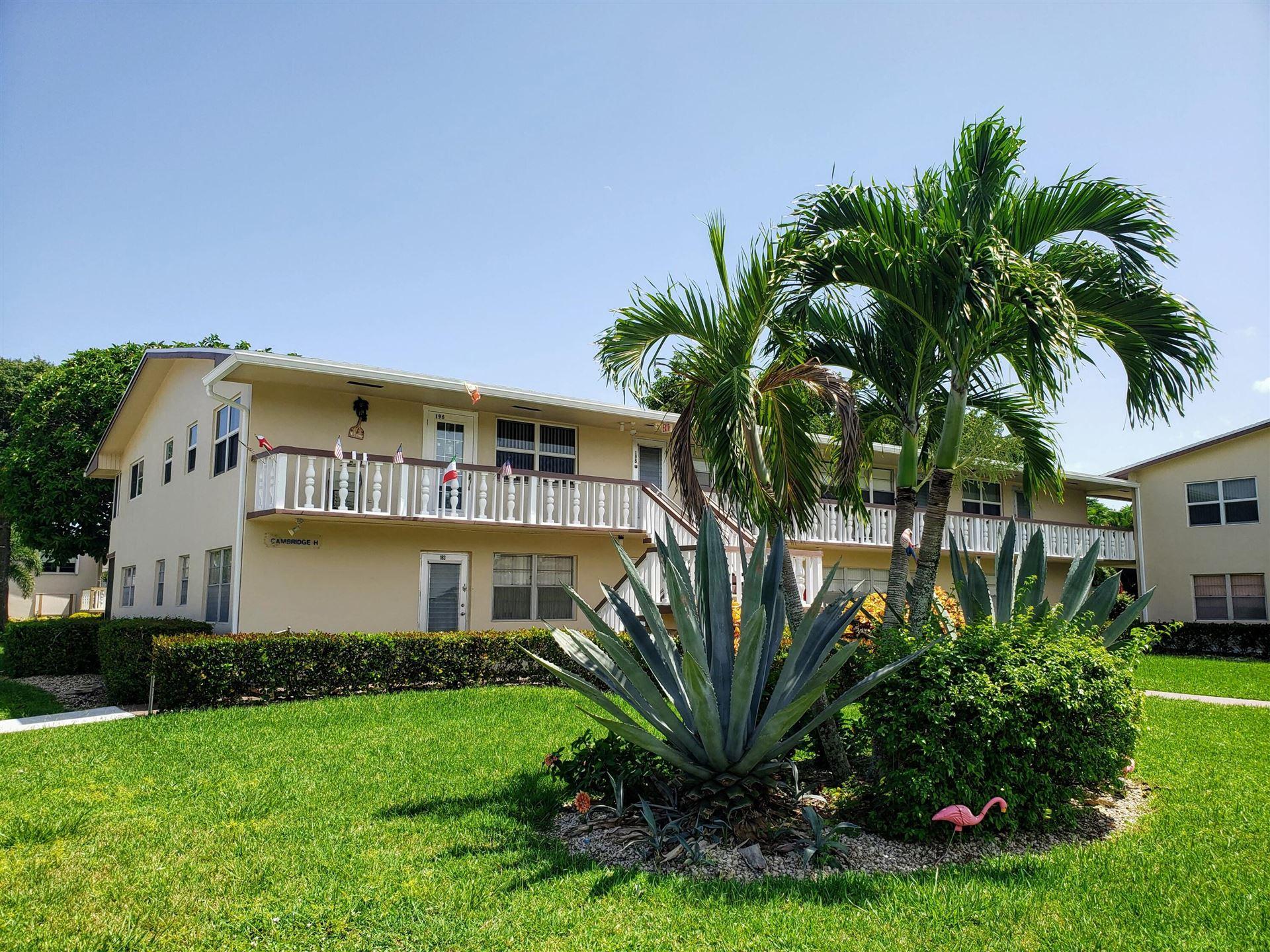195 Cambridge H, West Palm Beach, FL 33417 - MLS#: RX-10744894
