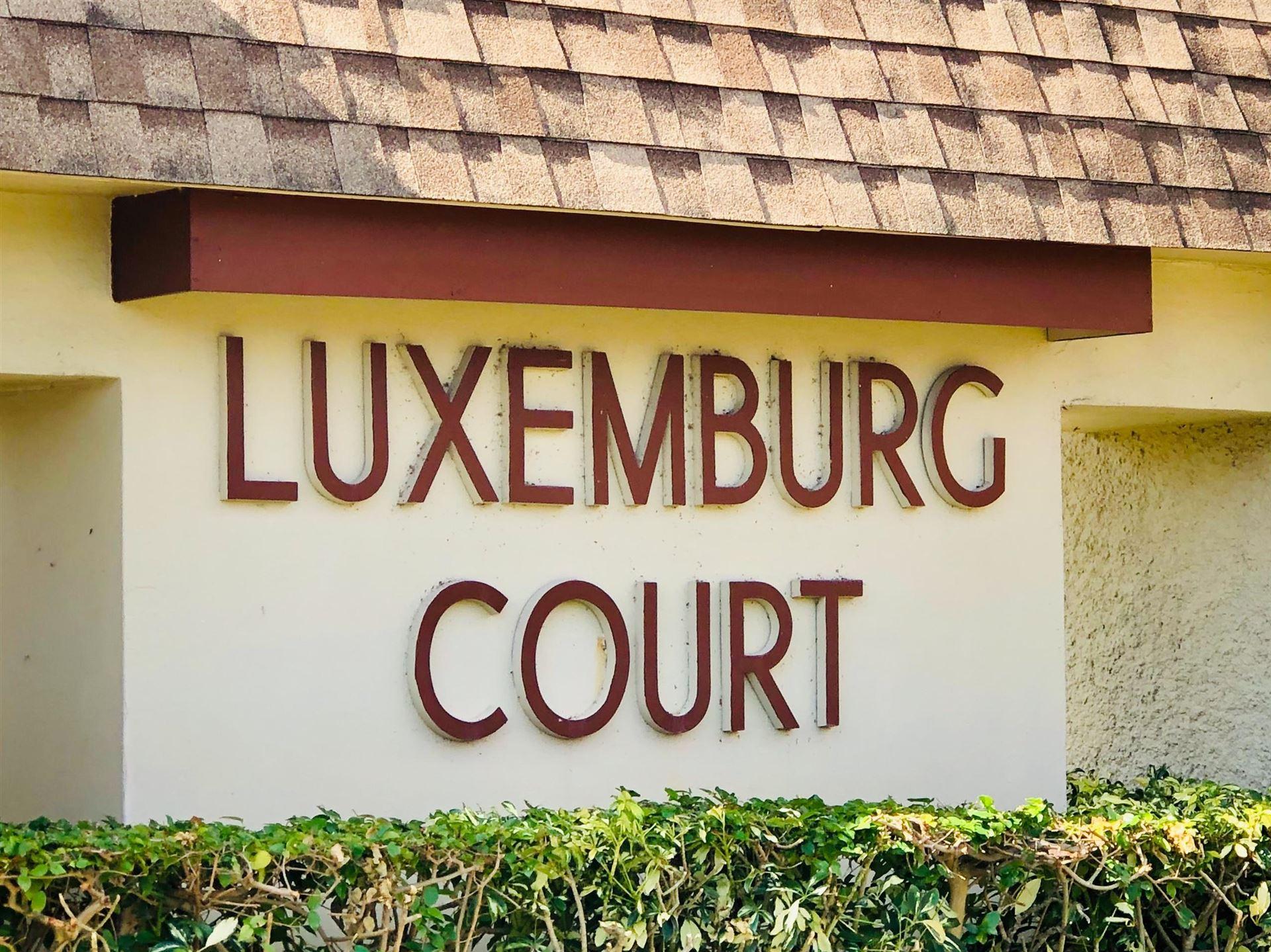 4483 Luxemburg Court #205, Lake Worth, FL 33467 - #: RX-10594895