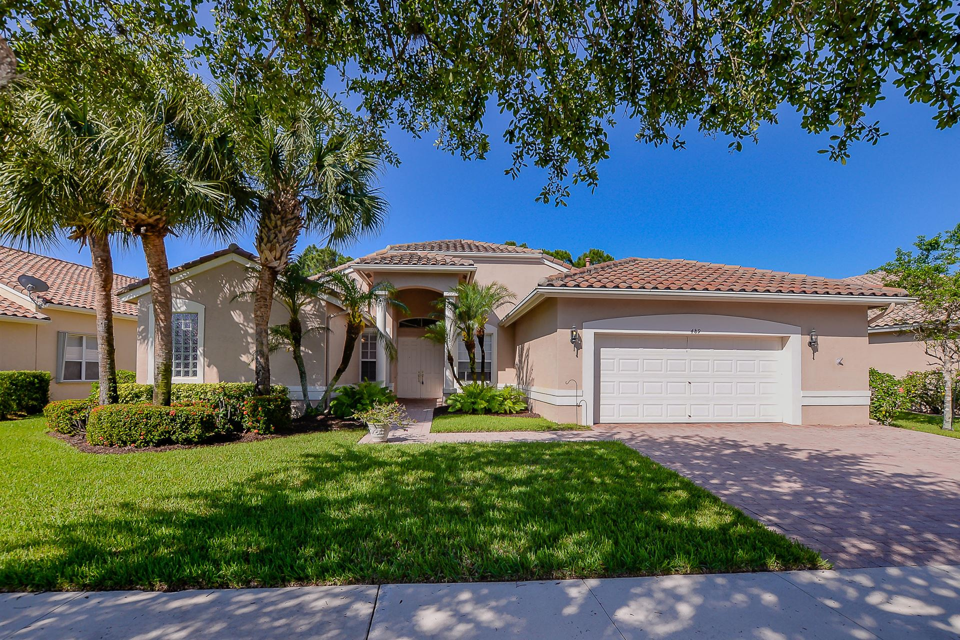 489 NW Blue Lake Drive, Port Saint Lucie, FL 34986 - #: RX-10618896