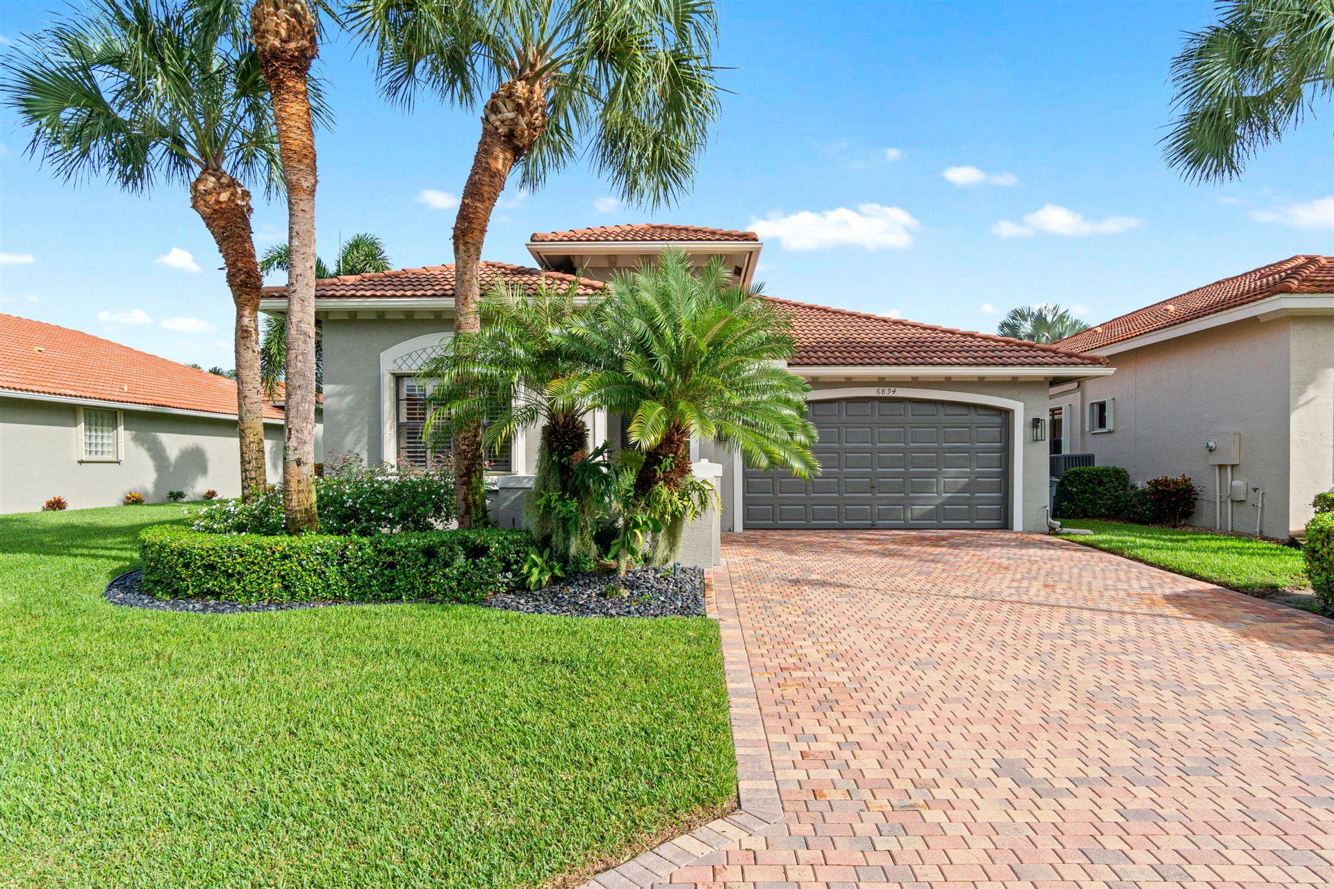 6894 Boscanni Drive, Boynton Beach, FL 33437 - #: RX-10661896