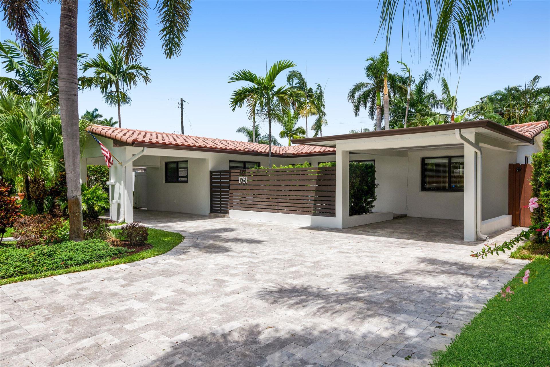1781 NE 19th Street, Fort Lauderdale, FL 33305 - MLS#: RX-10741896