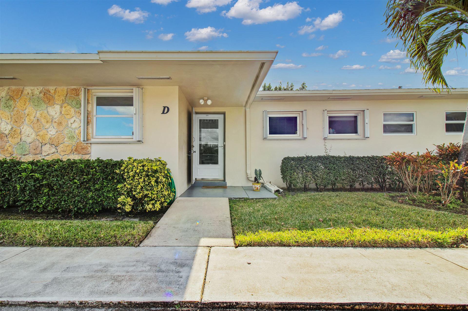 2737 Emory Drive E #D, West Palm Beach, FL 33415 - #: RX-10724897