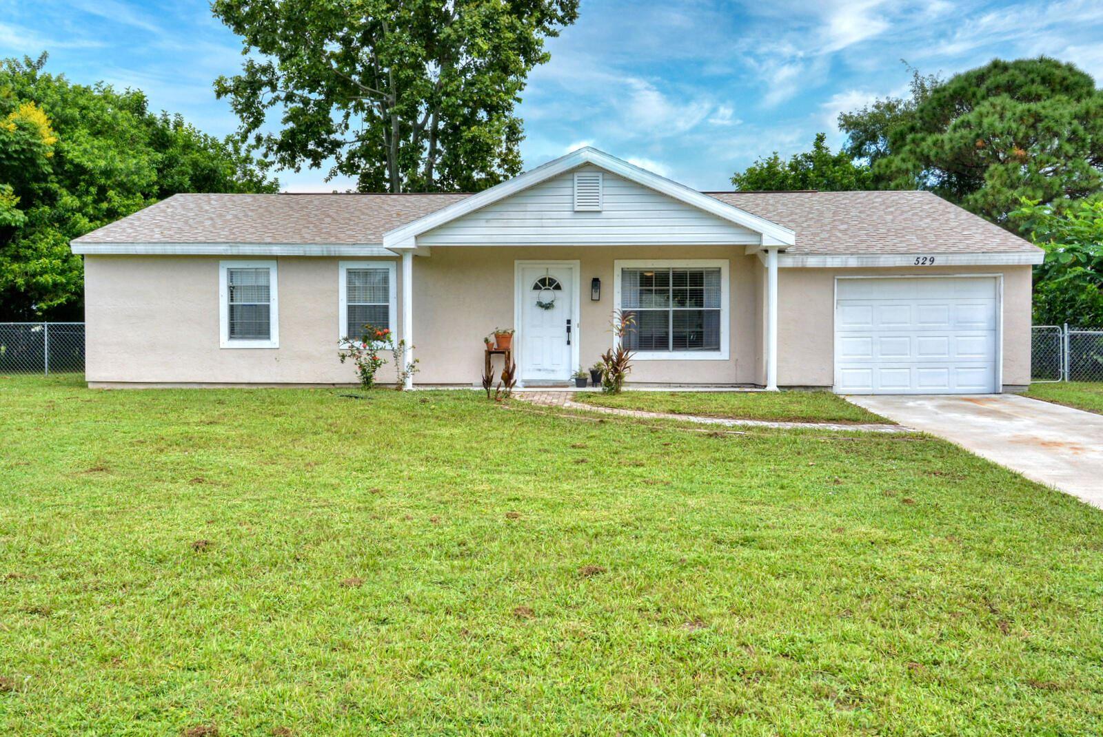 529 SW Belmont Circle, Port Saint Lucie, FL 34953 - #: RX-10747897