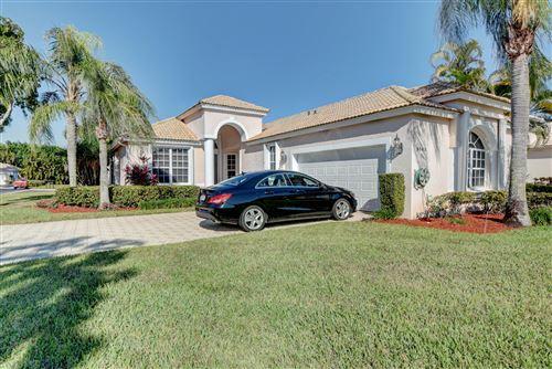 Photo of 9145 Long Lake Palm Drive, Boca Raton, FL 33496 (MLS # RX-10681898)