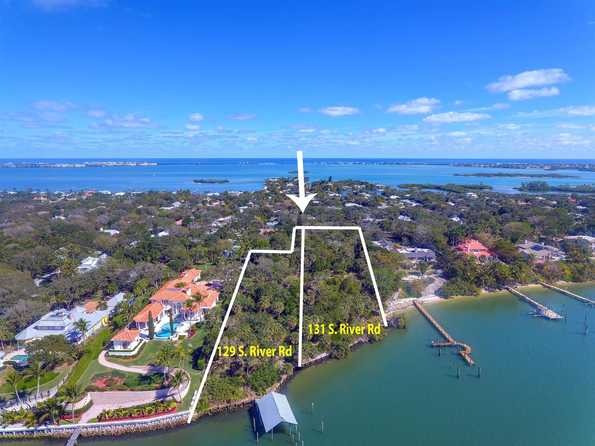 Photo of 129 S River Road, Sewalls Point, FL 34996 (MLS # RX-10503898)