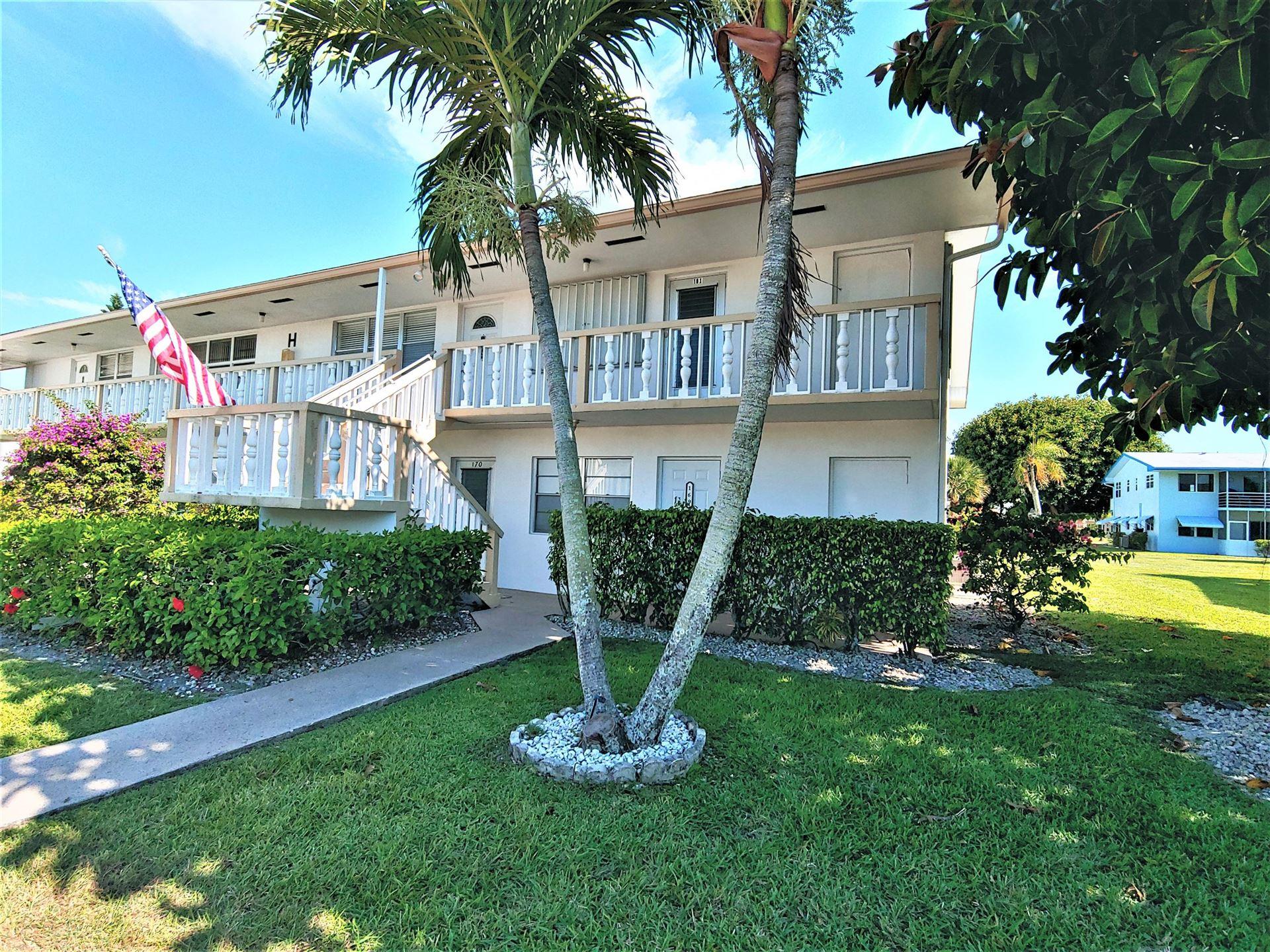 169 Easthampton #H, West Palm Beach, FL 33417 - MLS#: RX-10719898
