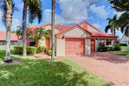 Photo of 7577 Lexington Club Boulevard #A, Delray Beach, FL 33446 (MLS # RX-10594899)