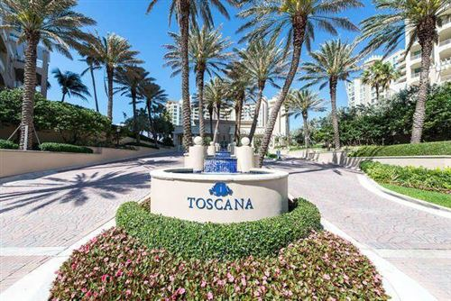 Photo of 3700 S Ocean Boulevard #710, Highland Beach, FL 33487 (MLS # RX-10750899)