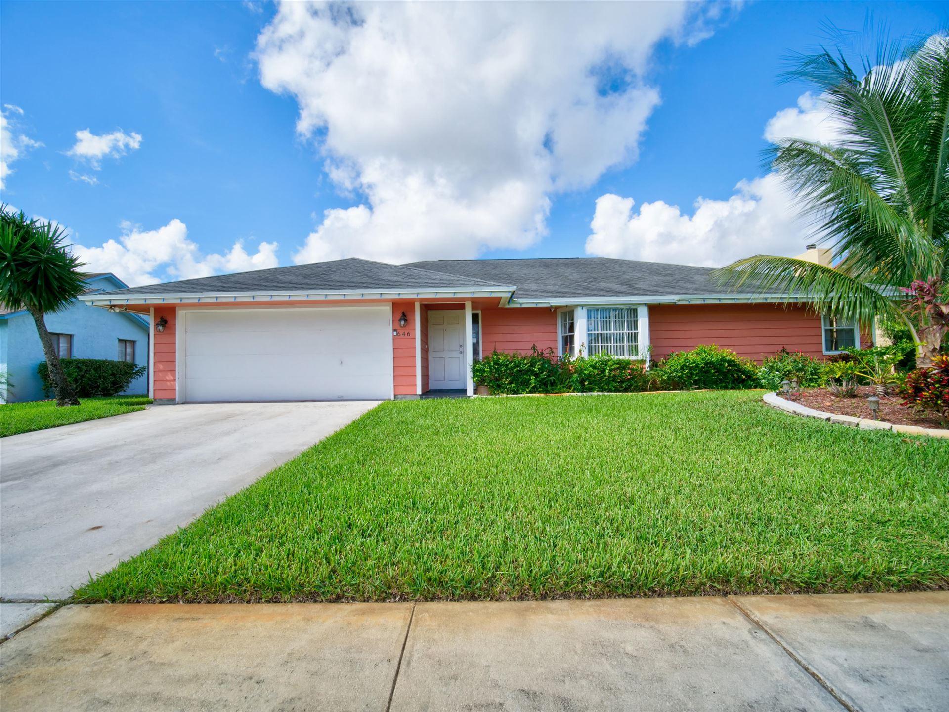 646 White Water Drive, West Palm Beach, FL 33413 - MLS#: RX-10741900