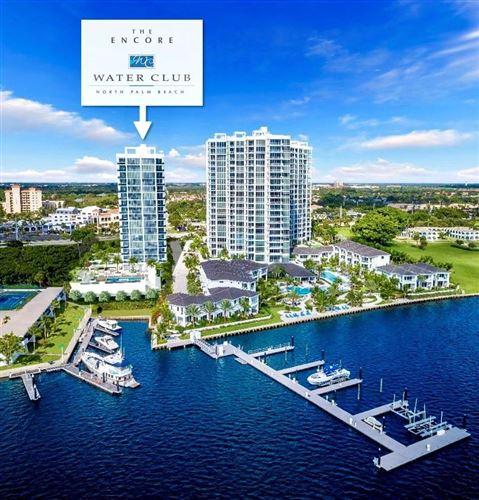 Photo of 3 Water Club Way #1801, North Palm Beach, FL 33408 (MLS # RX-10630901)