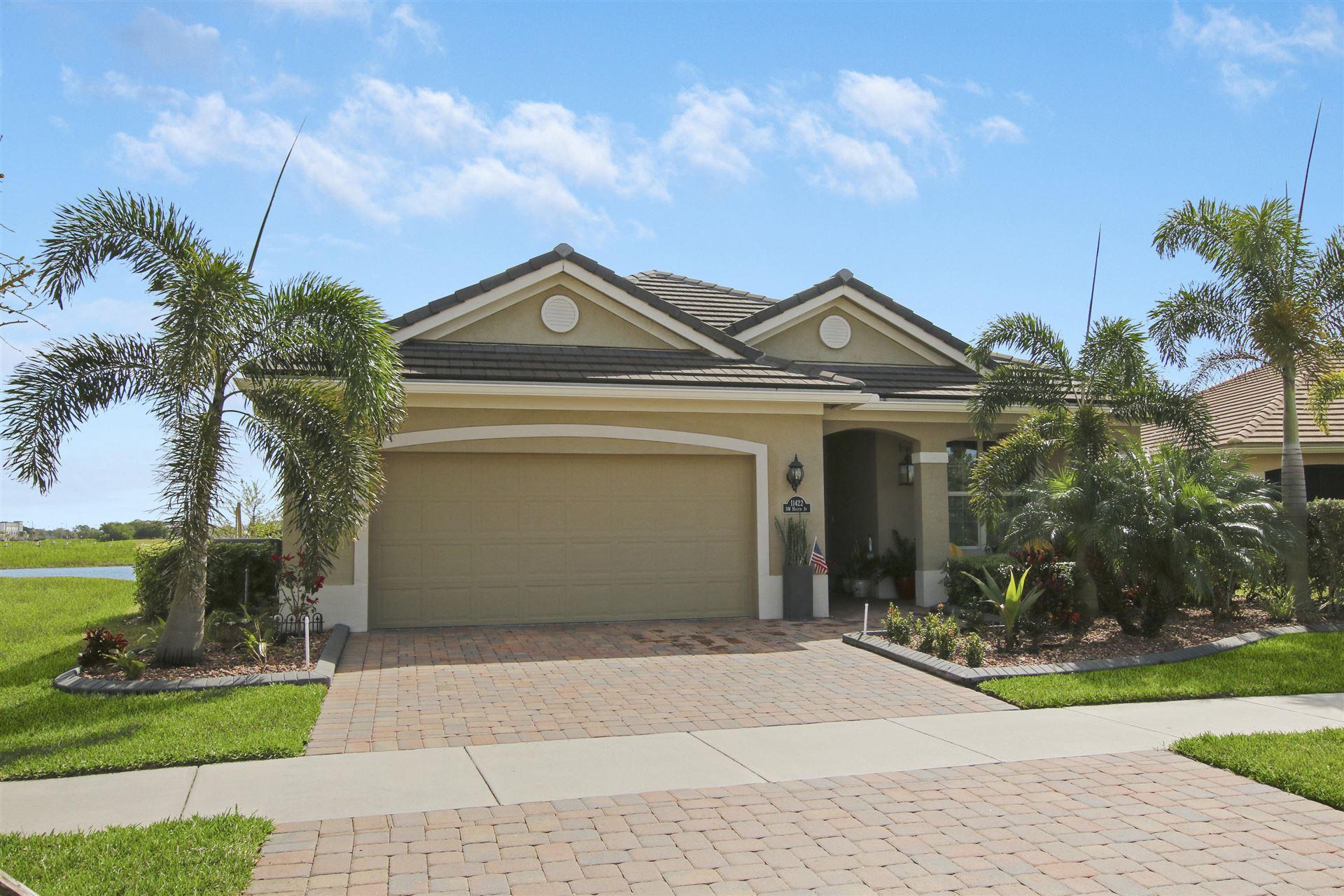 11422 SW Halton Street, Port Saint Lucie, FL 34987 - #: RX-10694901