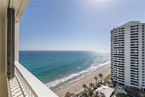 Photo of 5080 N Ocean Drive #15d, Singer Island, FL 33404 (MLS # RX-10691902)