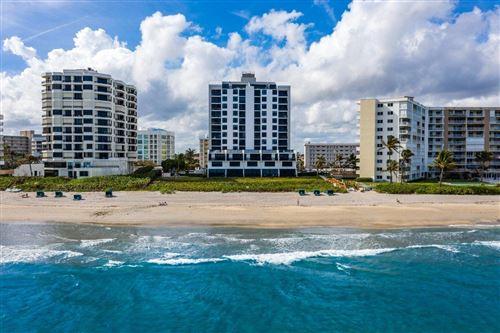 Photo of 3115 S Ocean Boulevard #1001, Highland Beach, FL 33487 (MLS # RX-10742907)