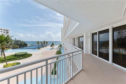 Photo of 3546 S Ocean Boulevard #424, South Palm Beach, FL 33480 (MLS # RX-10741909)