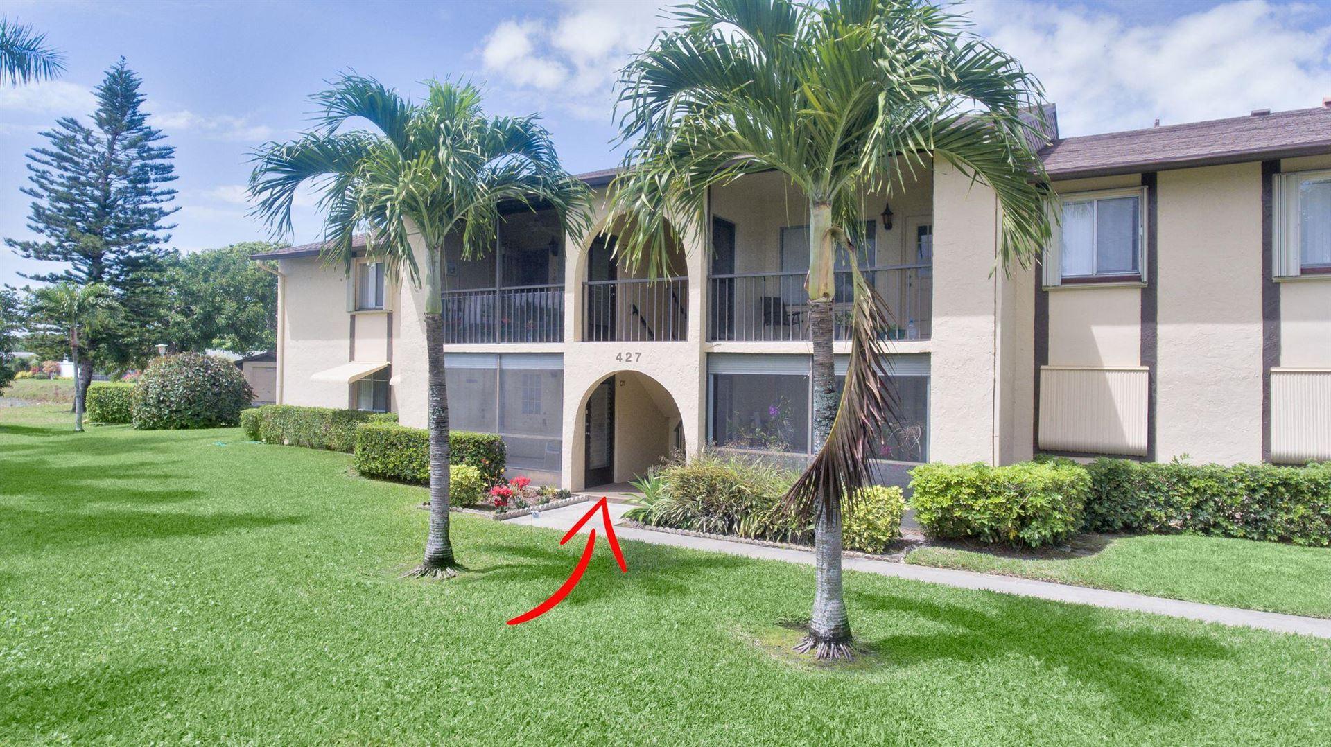 427 Pine Glen Lane #C-1, Greenacres, FL 33463 - MLS#: RX-10701910