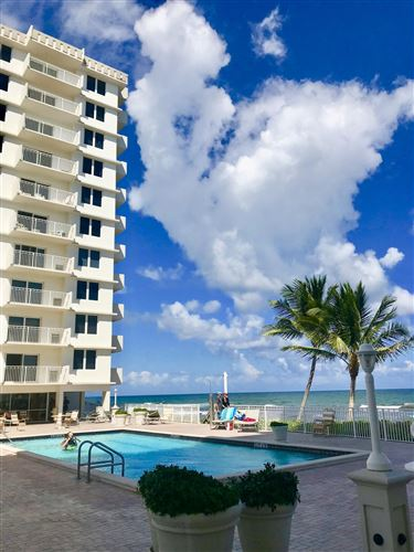 Photo of 3215 S Ocean Boulevard #708, Highland Beach, FL 33487 (MLS # RX-10655913)