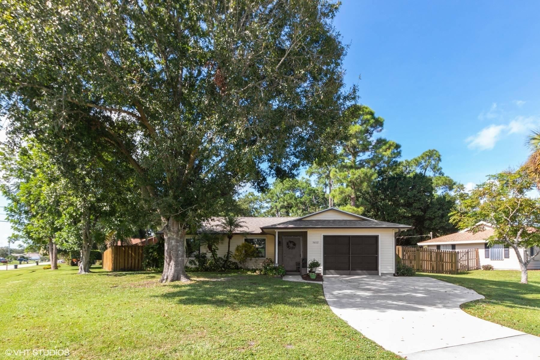 1402 SW Leisure Lane, Port Saint Lucie, FL 34953 - #: RX-10655915