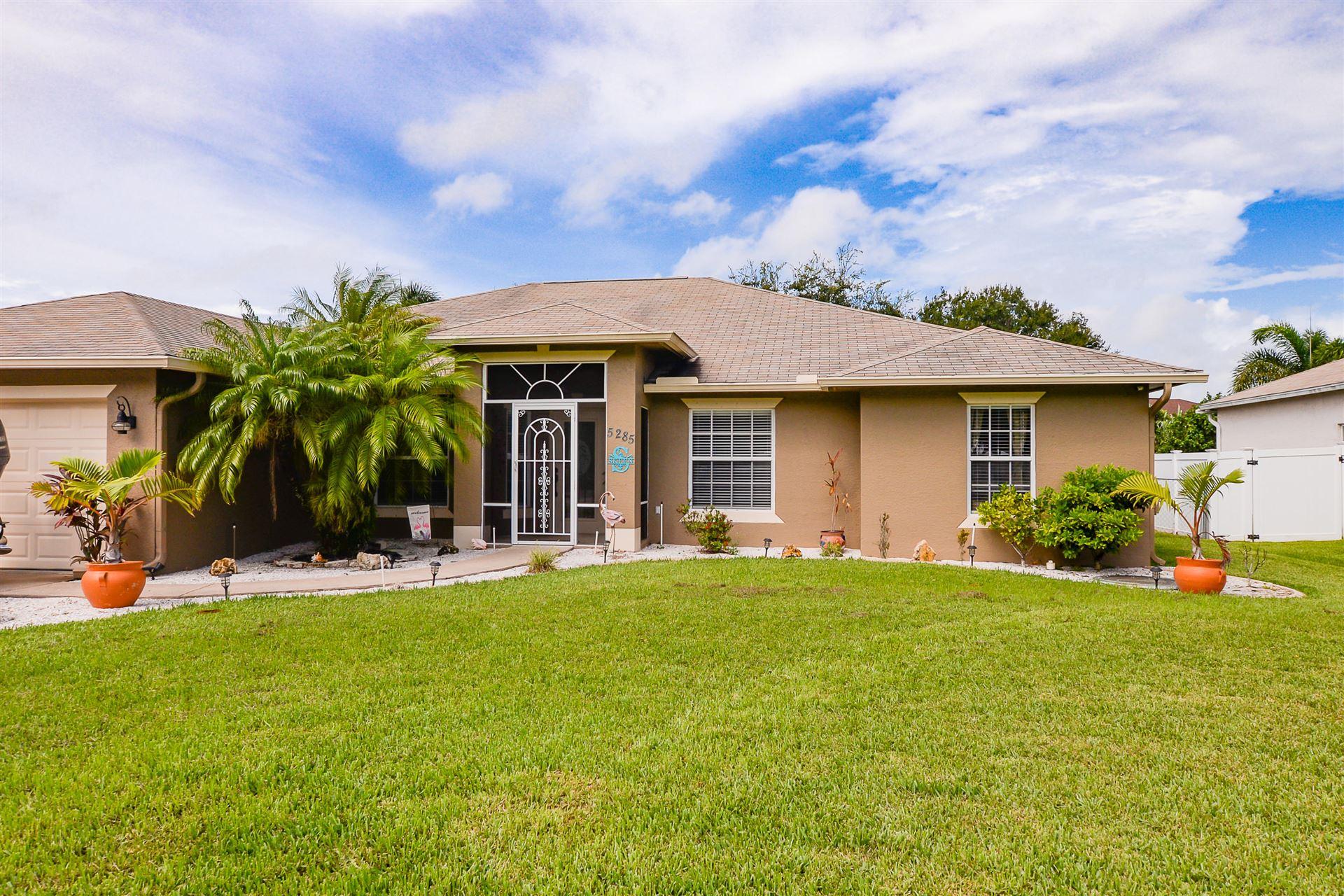 5285 NW Dunn Road, Port Saint Lucie, FL 34983 - #: RX-10653917