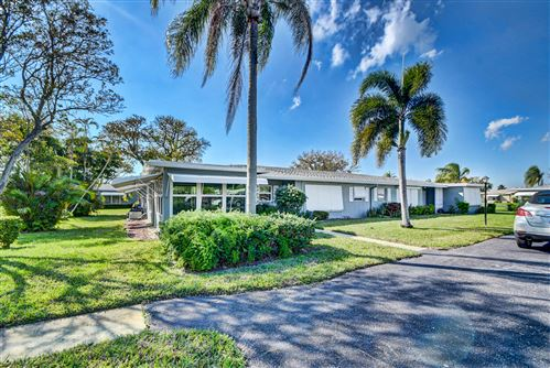 Photo of 830 High Point Drive W #A, Delray Beach, FL 33445 (MLS # RX-10695920)