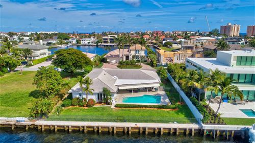 Photo of 4326 Intracoastal Drive, Highland Beach, FL 33487 (MLS # RX-10603923)