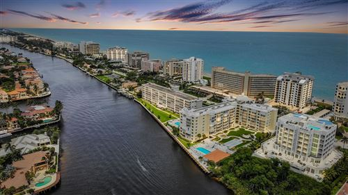 Photo of 3114 S Ocean Boulevard #208, Highland Beach, FL 33487 (MLS # RX-10715926)