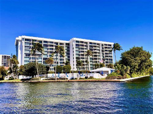 Photo of 4750 S Ocean Boulevard S #210, Highland Beach, FL 33487 (MLS # RX-10750926)