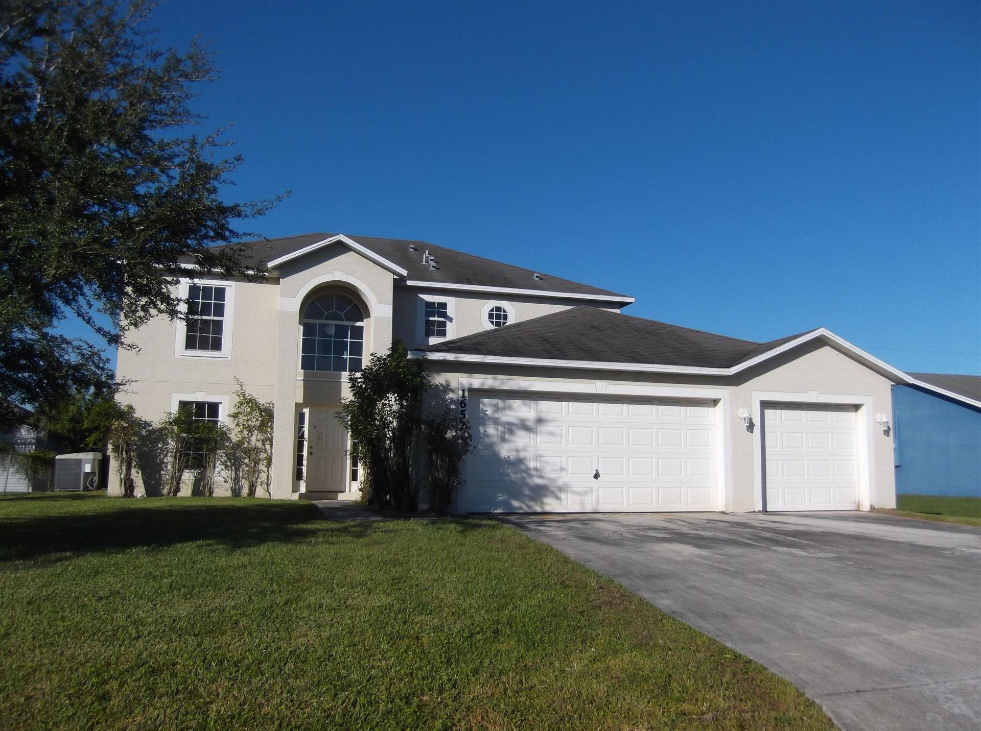 1652 SW Mcallister Lane, Port Saint Lucie, FL 34953 - #: RX-10641929