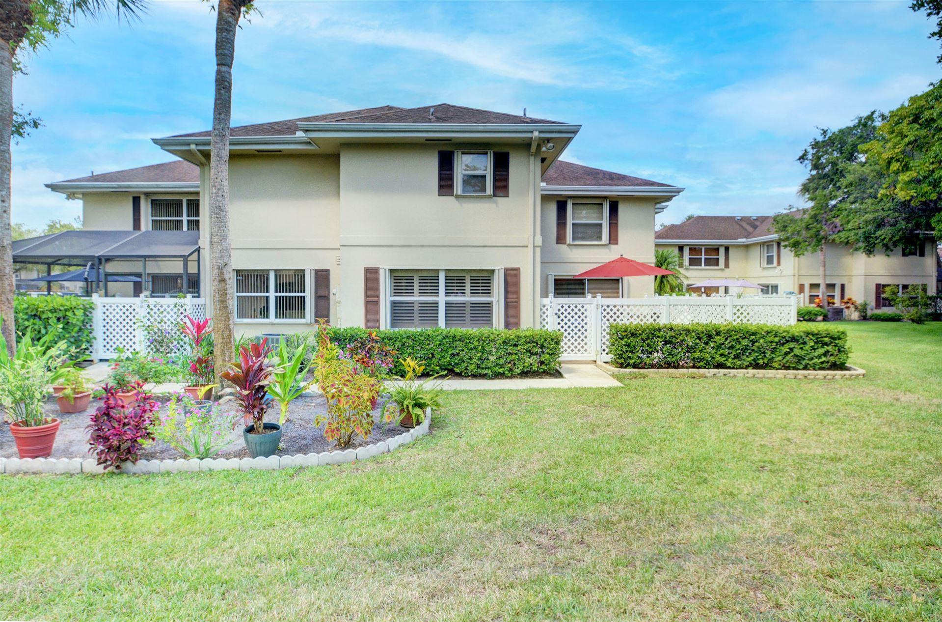 19 Amherst Court #A, Royal Palm Beach, FL 33411 - #: RX-10722930