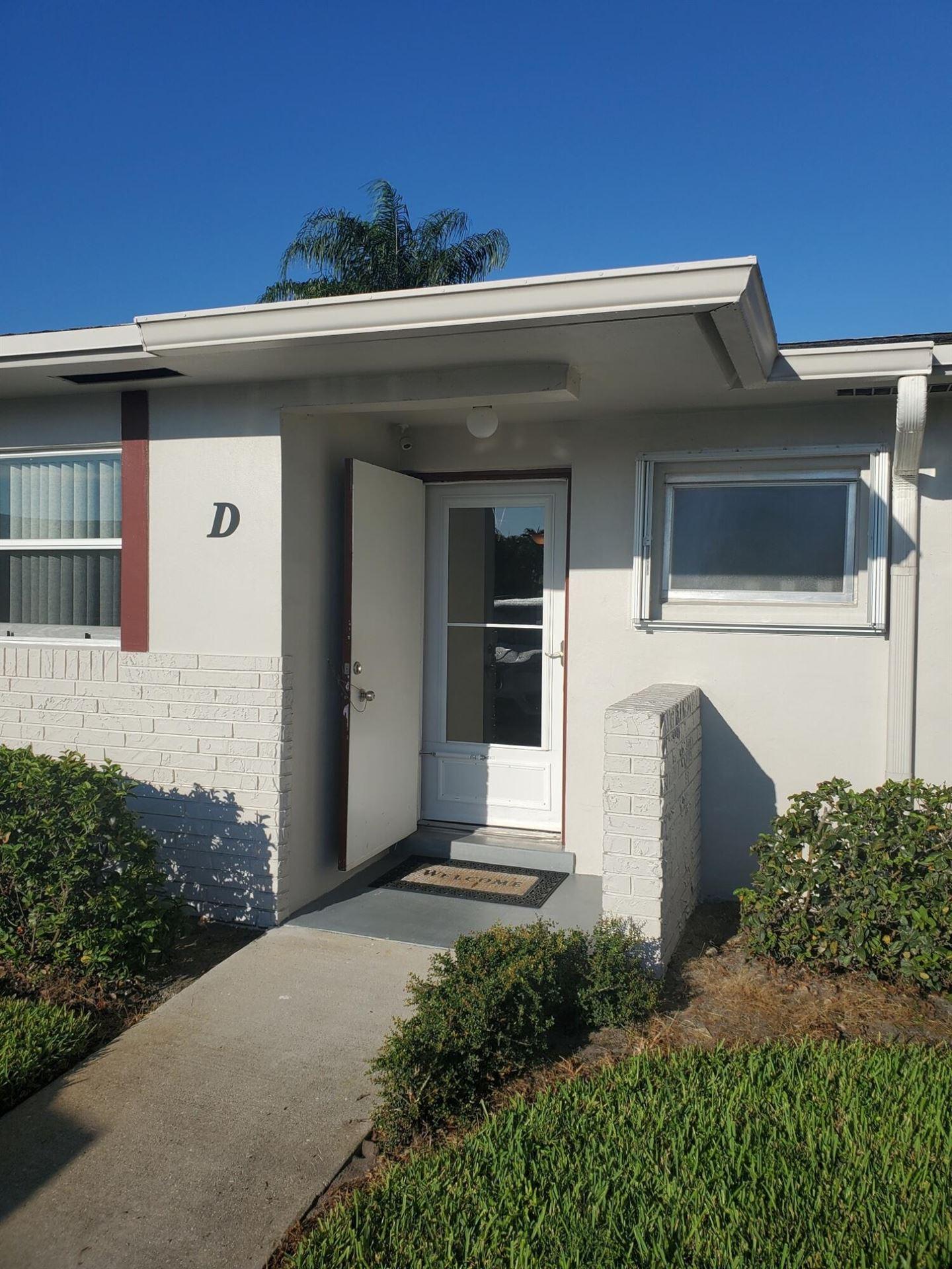2775 Emory Drive W #D, West Palm Beach, FL 33415 - MLS#: RX-10751930