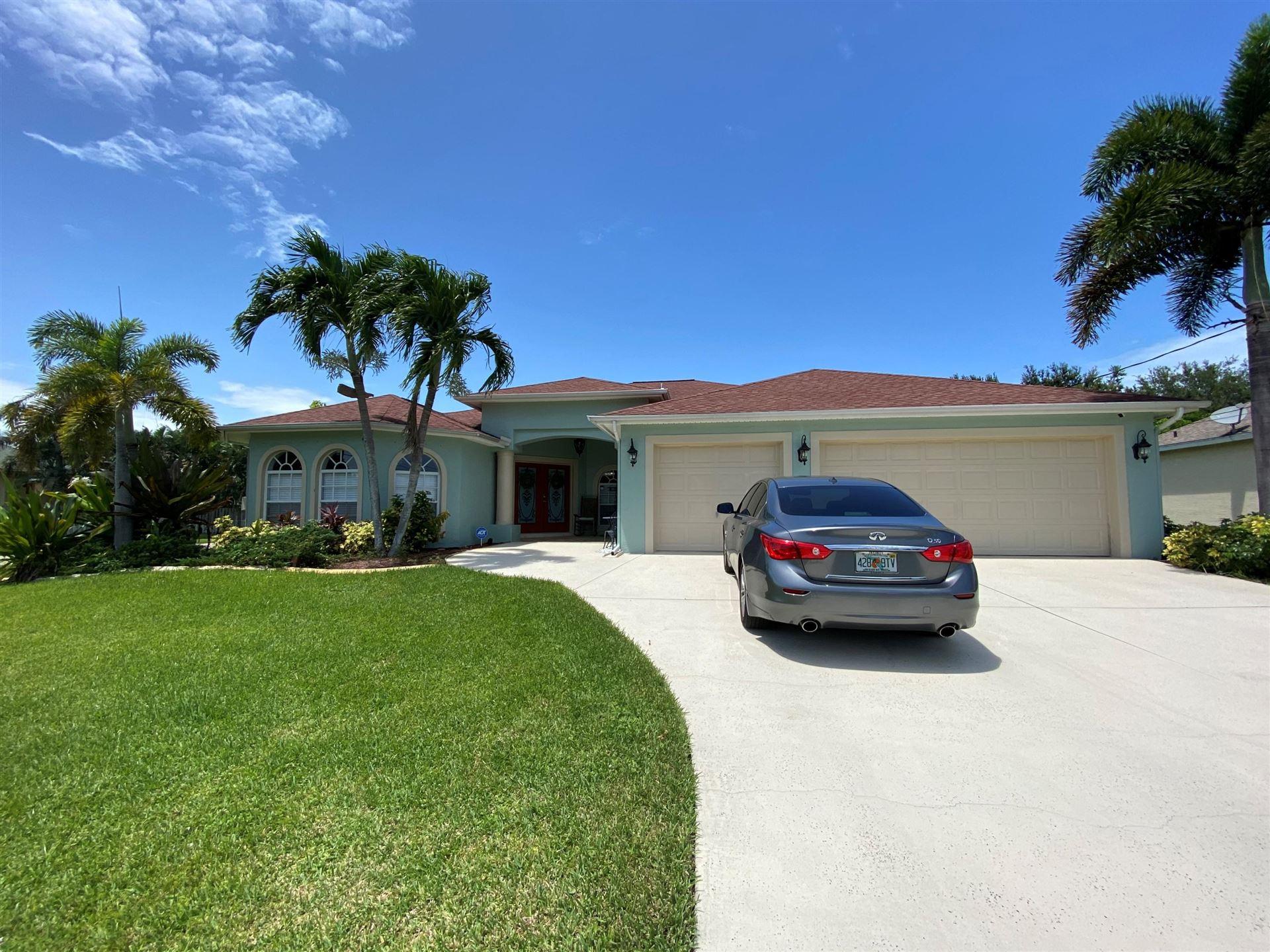 461 SW Dagget Avenue, Port Saint Lucie, FL 34953 - #: RX-10669931
