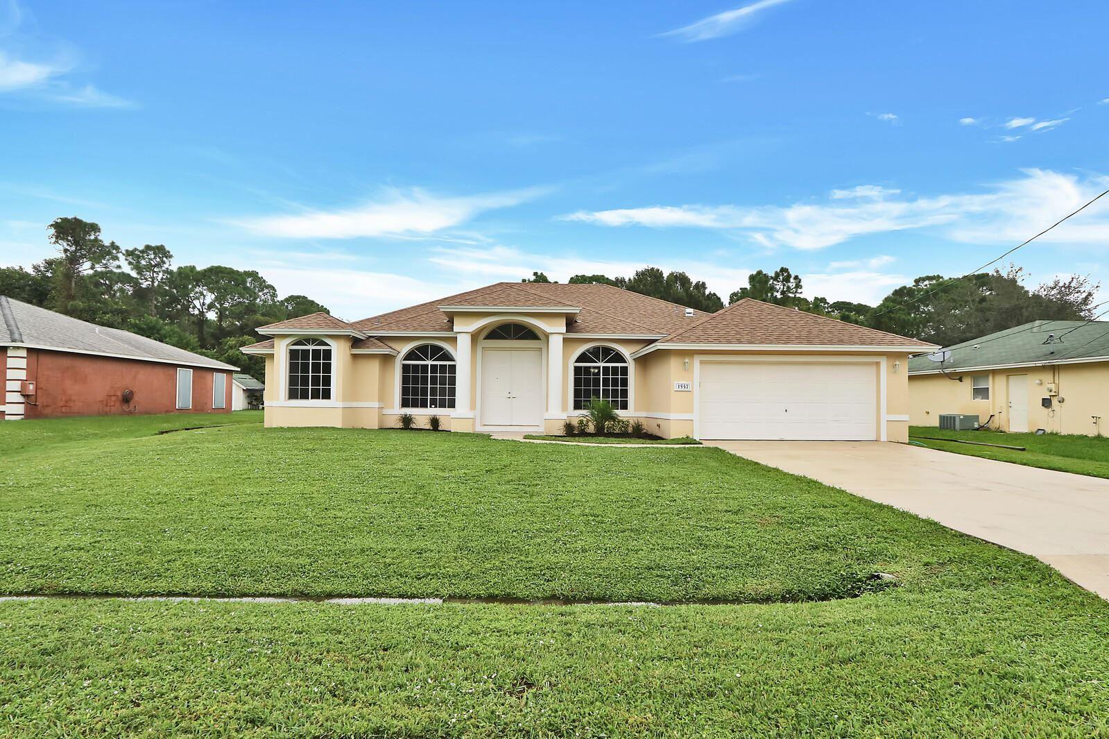 1547 SW Hunnicut Avenue, Port Saint Lucie, FL 34953 - #: RX-10670931
