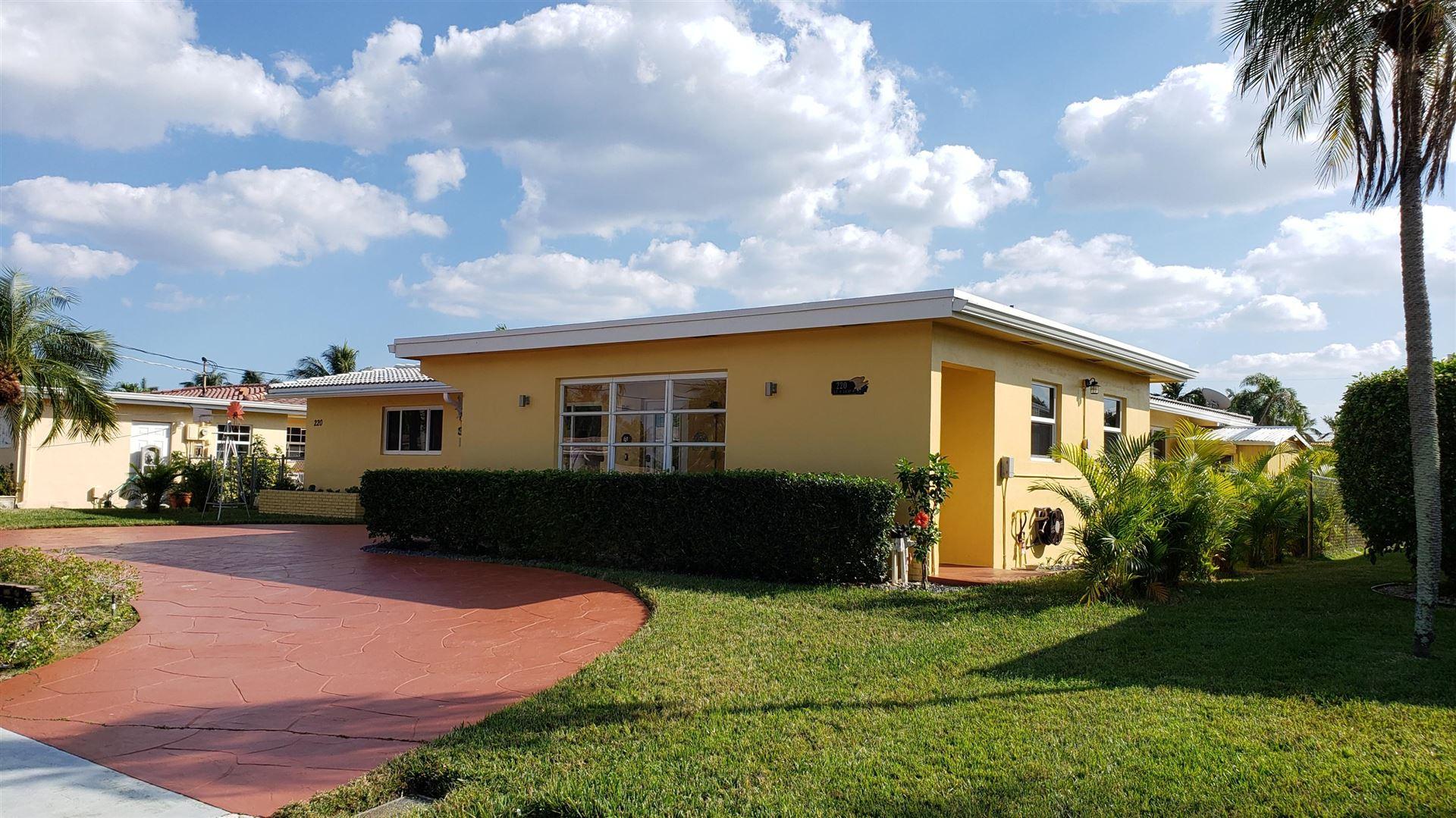220 SE 9th Court, Pompano Beach, FL 33060 - #: RX-10693932