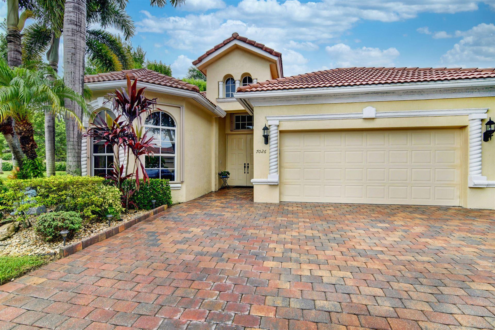 7026 Veneto Drive, Boynton Beach, FL 33437 - #: RX-10733932
