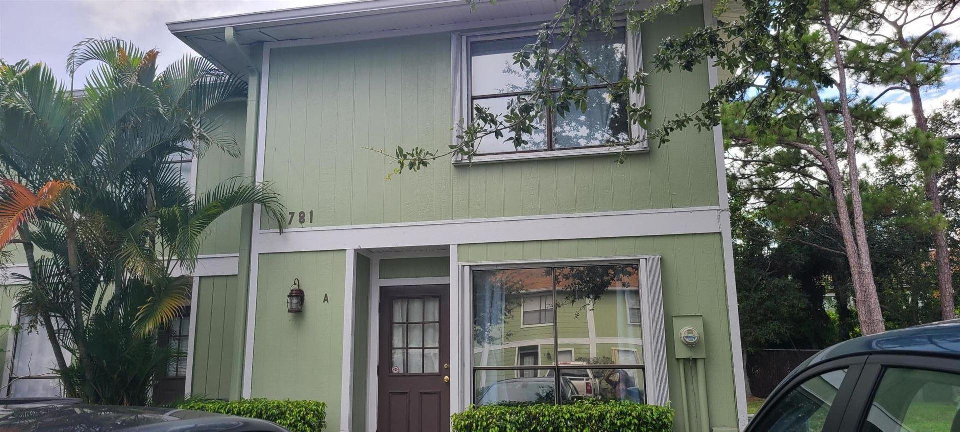 781 Hill Drive #A, West Palm Beach, FL 33415 - #: RX-10631935