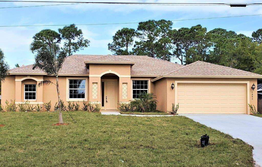 1758 SW Millikin Avenue, Port Saint Lucie, FL 34953 - MLS#: RX-10705936