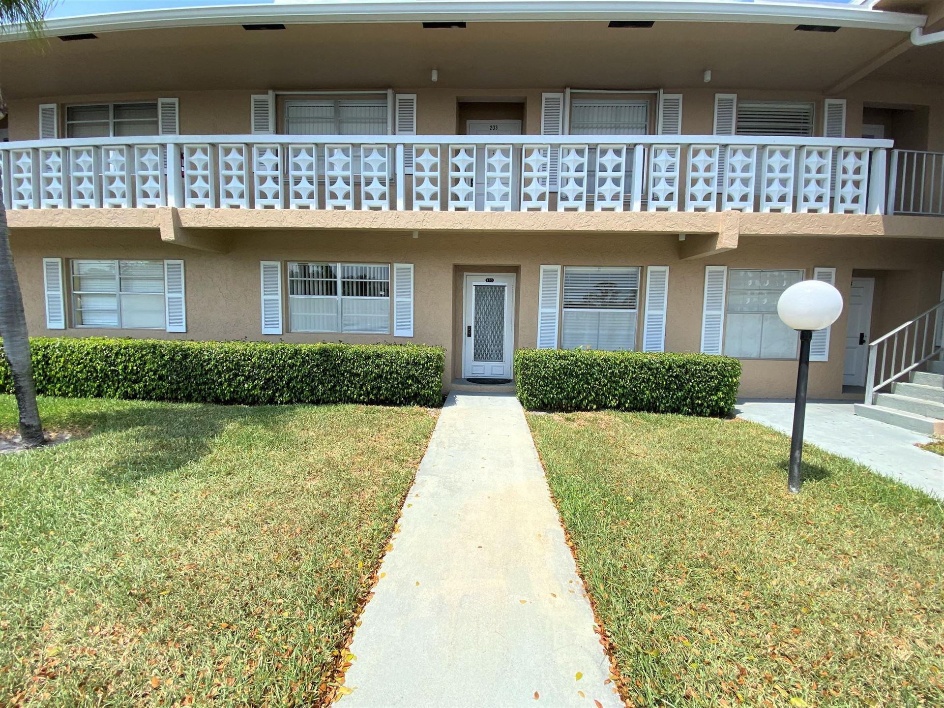 2601 Red Hibiscus Boulevard #103, Delray Beach, FL 33445 - #: RX-10616938