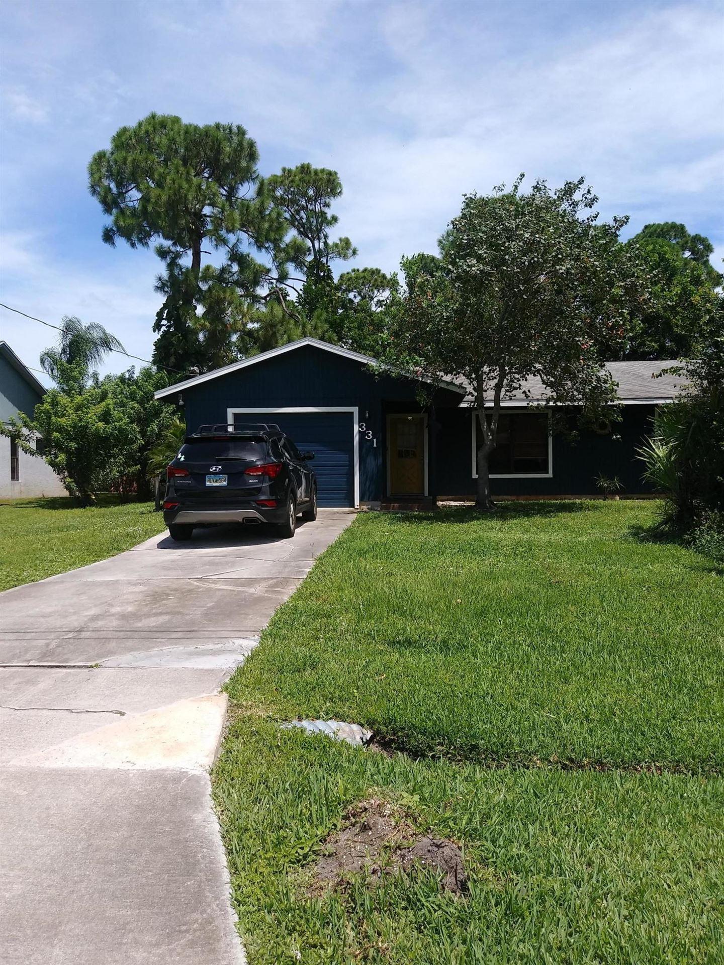 331 SE Fallon Drive, Port Saint Lucie, FL 34983 - #: RX-10643938