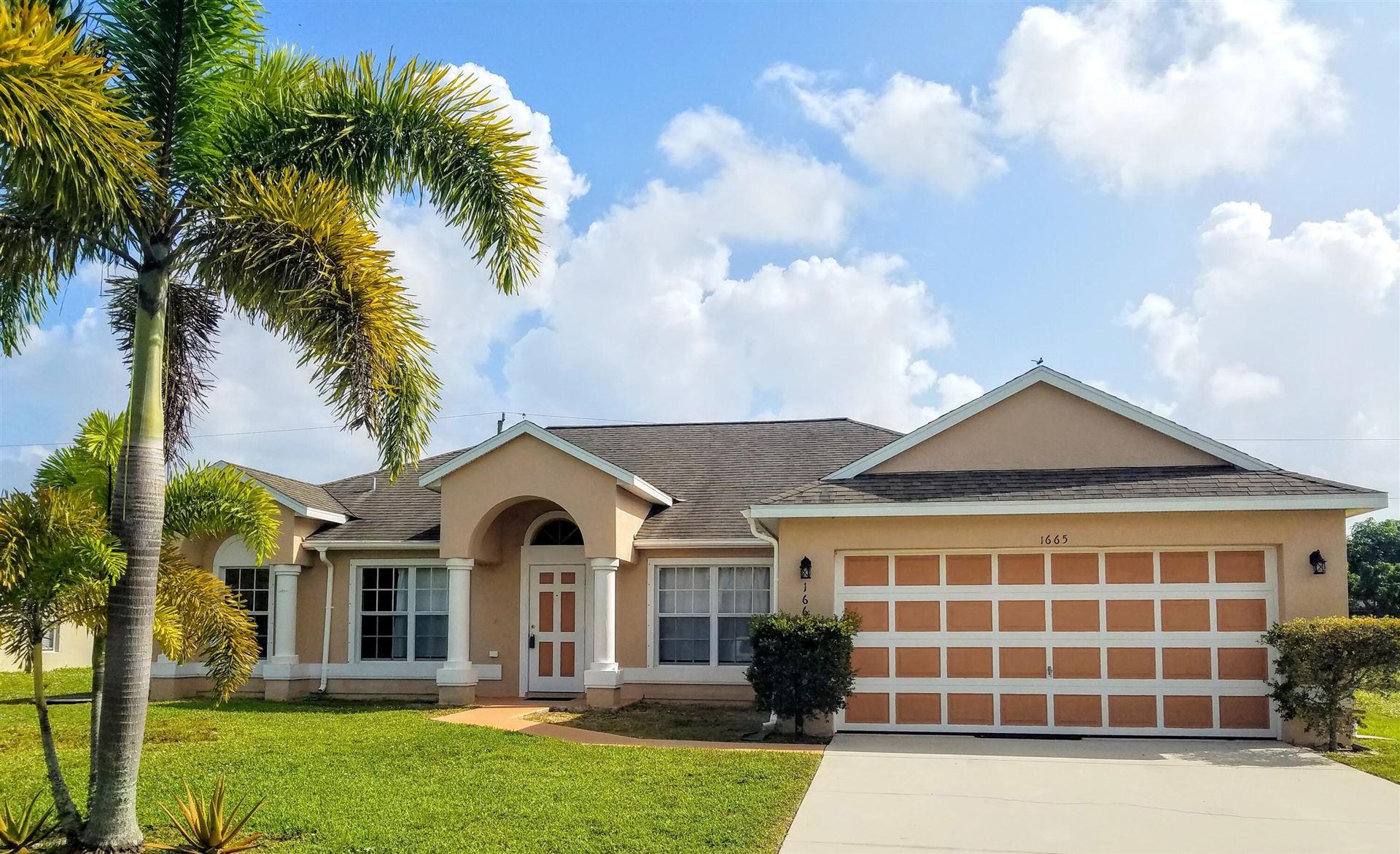 1665 SW Morelia Lane, Port Saint Lucie, FL 34953 - MLS#: RX-10751940