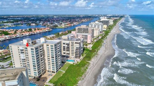 Photo of 3015 S Ocean Boulevard #5d, Highland Beach, FL 33487 (MLS # RX-10596941)
