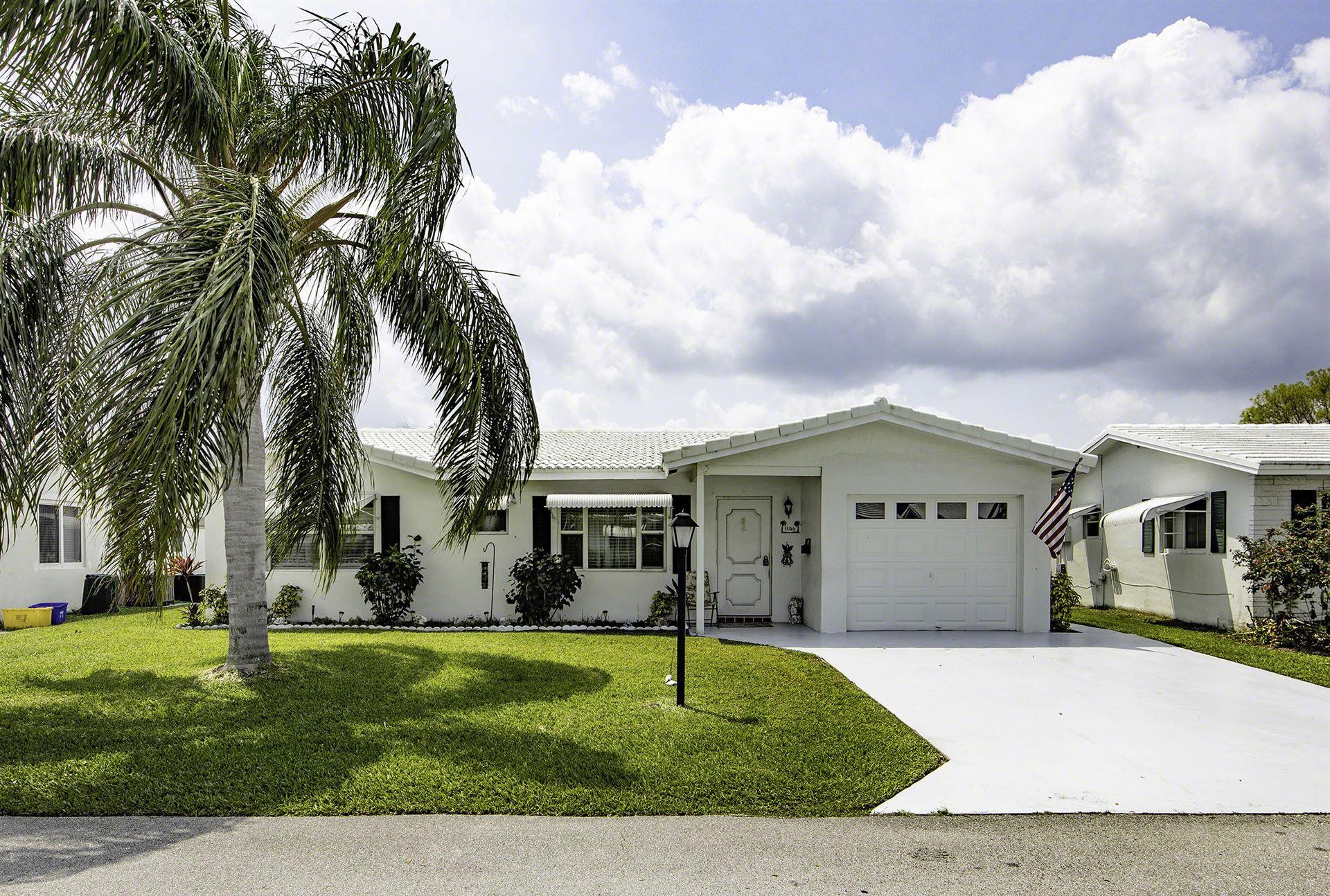 1100 Leisure Lane, Boynton Beach, FL 33426 - #: RX-10616942