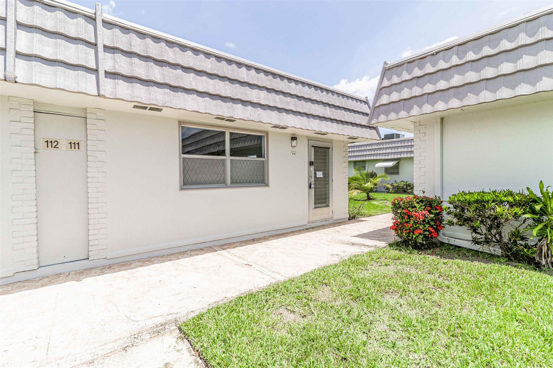 111 Valencia E, Delray Beach, FL 33446 - MLS#: RX-10732944