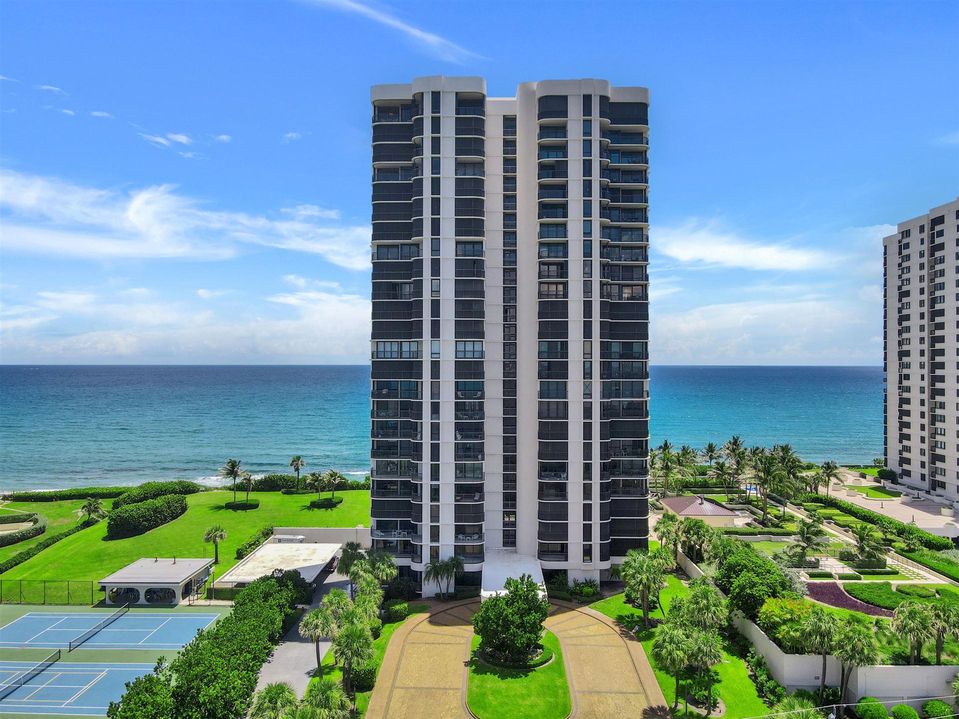 Photo for 5380 N Ocean Drive #16i, Singer Island, FL 33404 (MLS # RX-10738944)