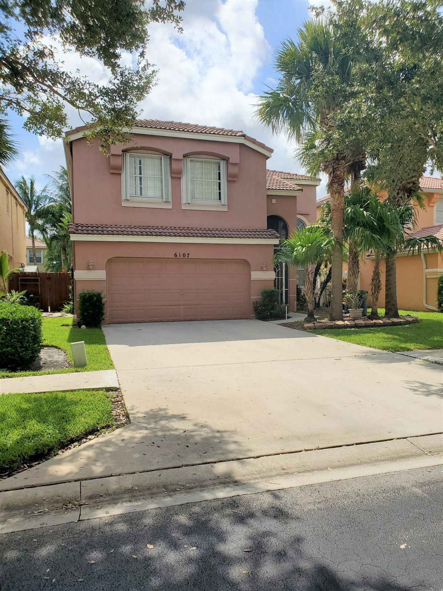 6107 Oak Bluff Way, Lake Worth, FL 33467 - #: RX-10733948