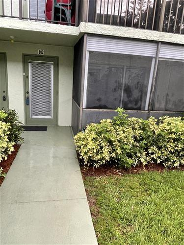Photo of 7543 S Oriole Boulevard #102, Delray Beach, FL 33446 (MLS # RX-10732952)